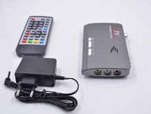 DVB-T2 DVB-T AV to VGA TV Box HDMI VGA AV USB 1080P HD
