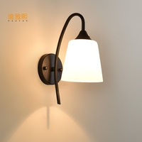 Vintage Plated Industrial Wall Lamp LED Wall Light Bathroom Wall Sconce