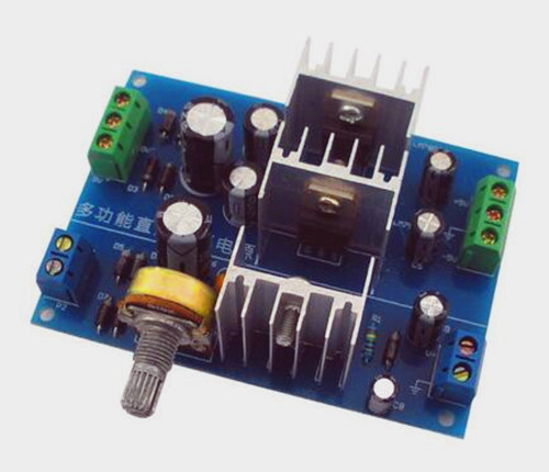 Free Shipping!!! Multi-function DC stabilized power supply kit  positive and negative 5V 0~30V adjustable  TJ-56-121 (parts)