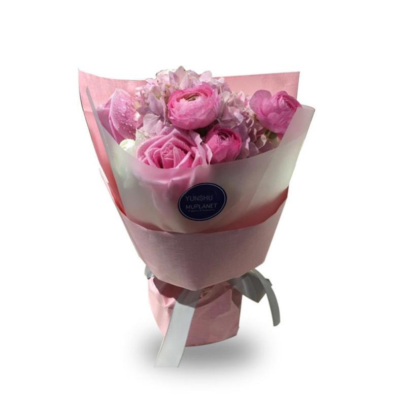 High Grade Paper Waterproof Flowers Packaging Material Flowers ...
