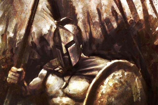 Hot 300 Spartans Shields Spears Fabric Cloth Art Canvas Movie Poster