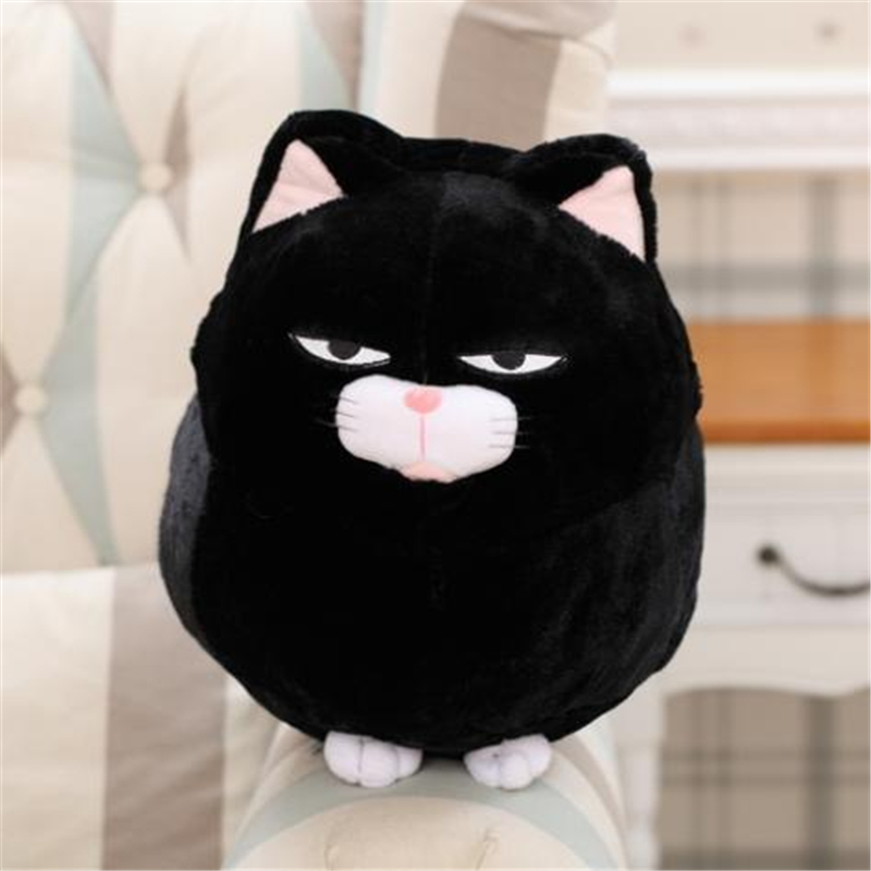 MOWIN Soft Pussy Stuffed Plush Animals Anime Toys Room Deco Fluffy Lucky Cat Peluches Party Throw Pillows Game Kitten Baby Gifts In Movies TV From