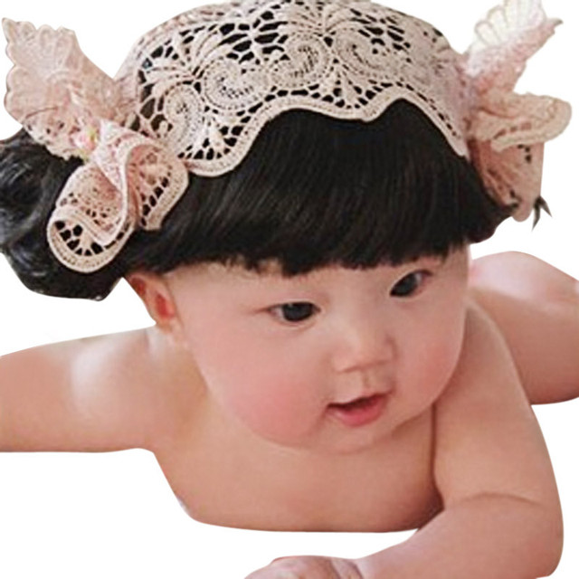 infant girl hair accessories baby girl headbands Bangs kids elastic hair  bands hair accessories hair tie a01e0c41b41