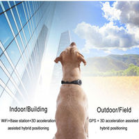 Pet GPS MinI Locator S1 support WIFI LBS GPS Smart Activity Tracker designed for pets With
