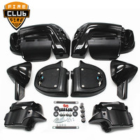For Harley Touring Models Street Electra Glide Road King FLT FLHT FLHRC 1983 2013 Painted ABS Lower Leg Vented Fairing