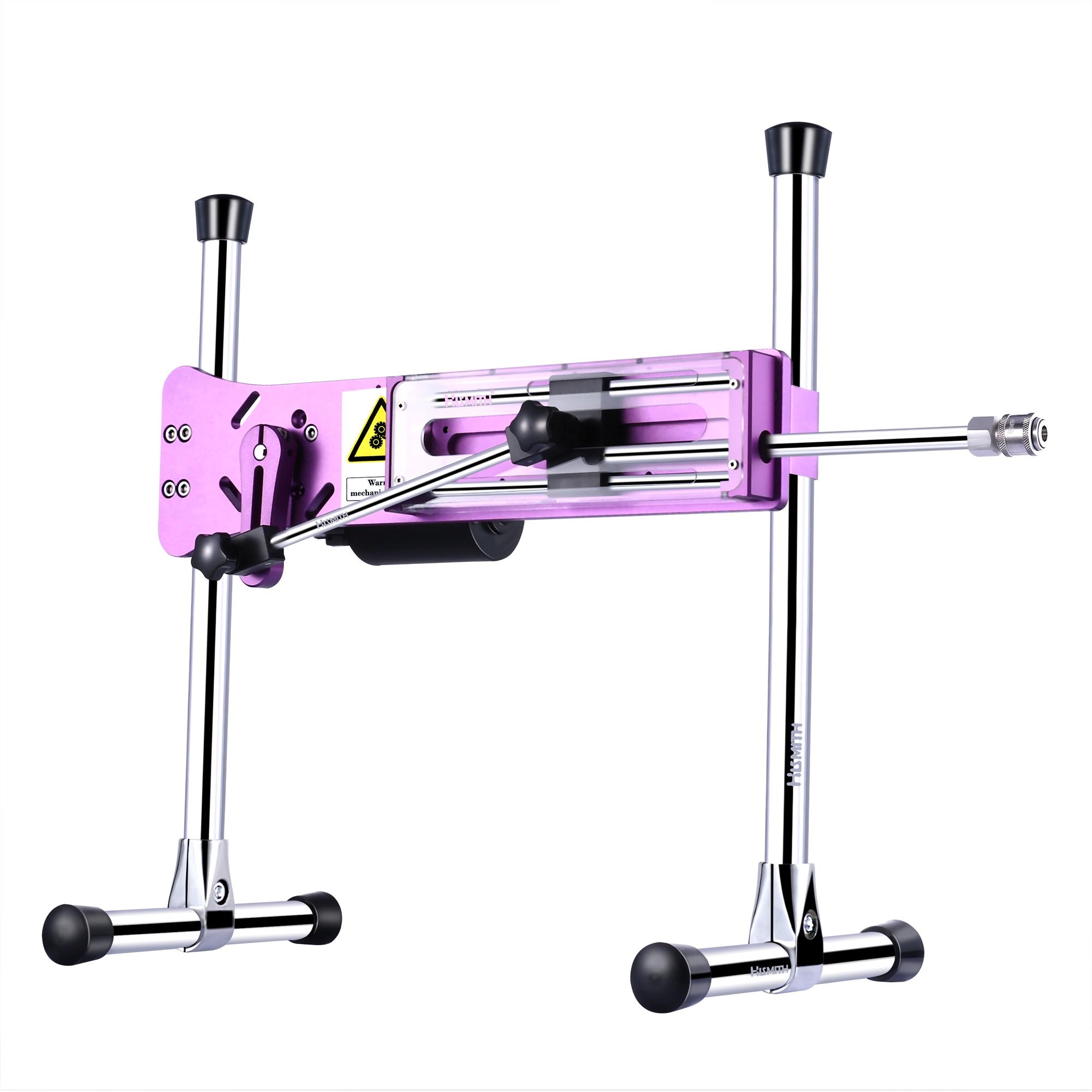 Hismith Premium Sex Machine With 8 quot Silicone Dildo Purple Thrusting Machines KlicLok System Love Machine Gun for Women in Masturbation Machine from Beauty amp Health