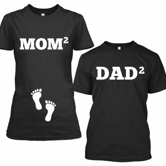 126173f110dc8 ... OKOUFEN mom dad baby couple Pregnancy Announcement Friends tshirt  fashion tumblr women mens casual family tee