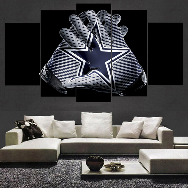 Canvas painting dallas cowboys wall art picture modern home decoration living room or bedroom canvas print
