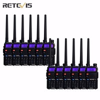 12 шт. удобный Retevis RT-5R портативной рации 5 Вт двухдиапазонный VHF/UHF любительского радио Портативный двухстороннее радио приемопередатчик ...