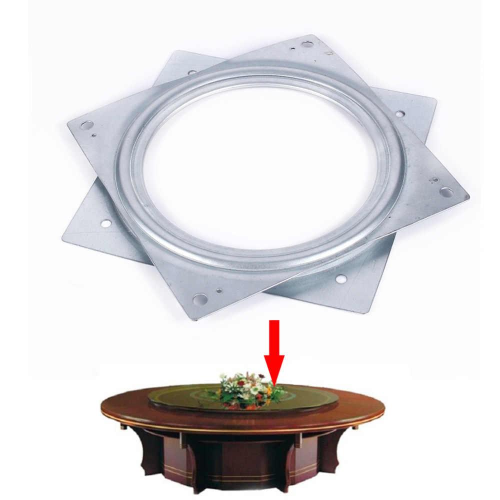 Мм 155*155 мм Lazy Susan обеденный стол проигрыватели отель дома мебельное колесо запчасти промышленных подшипник поворотного стола поворотная пластина