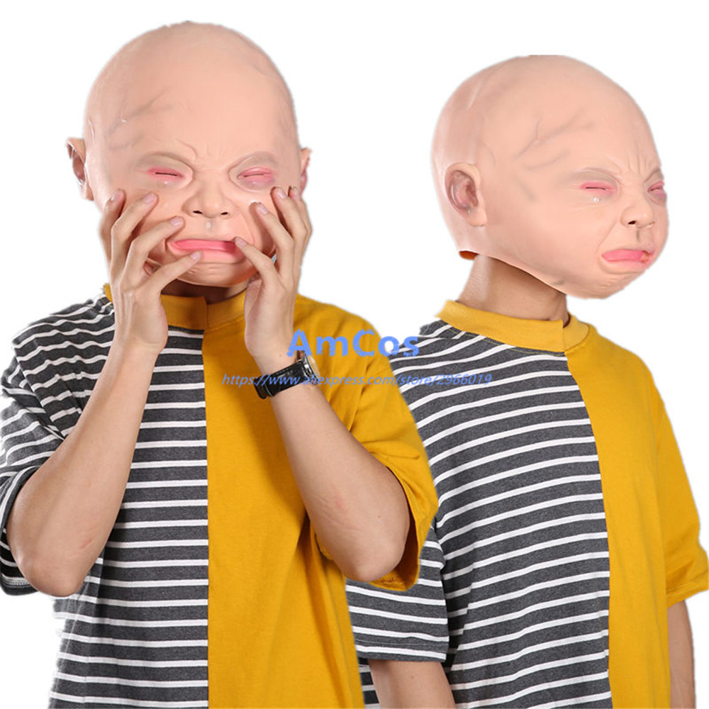 Compare Prices on Creepy Baby Face Mask- Online Shopping/Buy Low ...