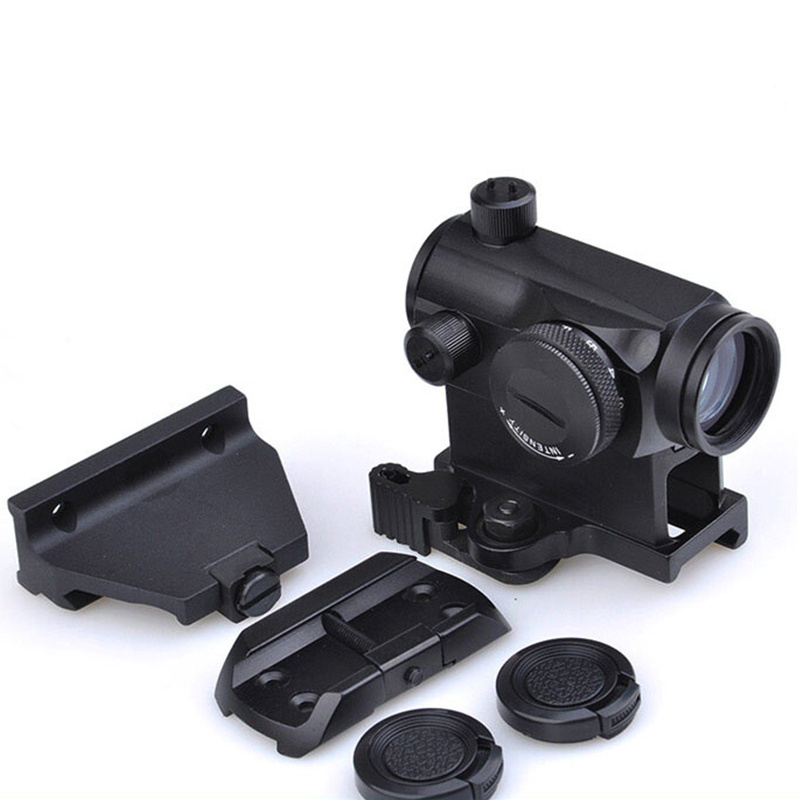 Aim Holographic Red Dot Sight With QD Mount & Low Mount And Offset Mount Tactical RifleScope Hunting Shooting Rifle Scope AO5080 element larue tactical spr m4 scope mount qd