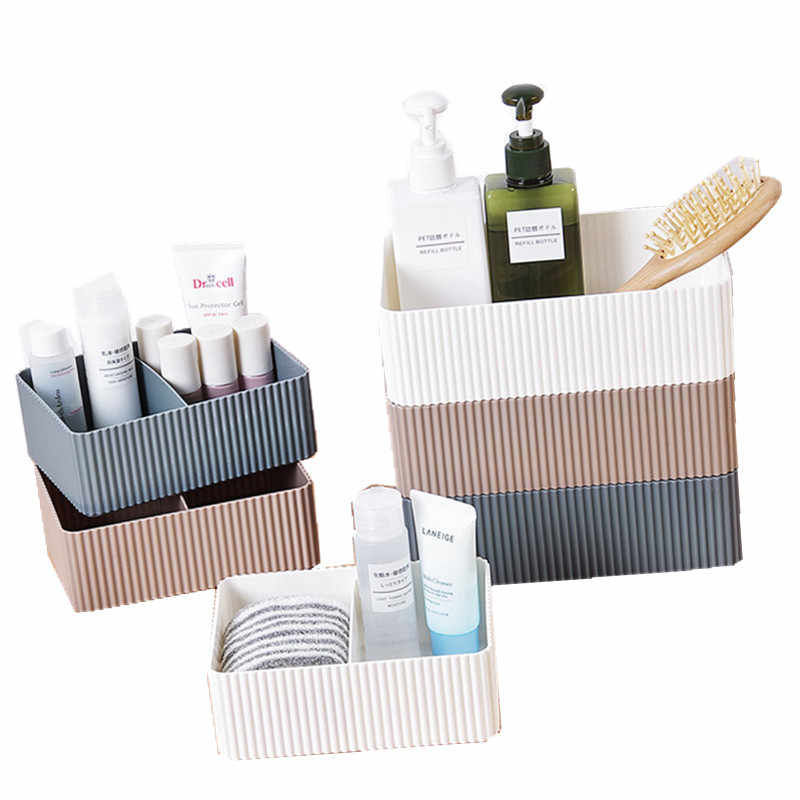 Griglia di Articoli Vari per Desktop Scatola Di Immagazzinaggio di Trucco Organizzatore Per Cestelli Contenitore Cosmetici Make Up Bagagli Home Office Barthroom