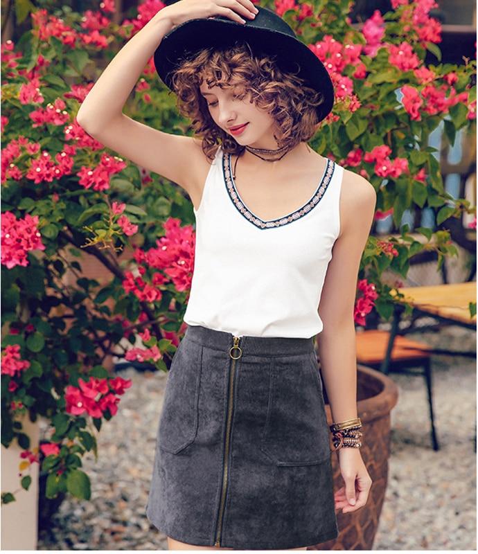 2018 New Summer women Crop Top 2018 Summer Honey Letter Embroidery Strap Tank Tops Cropped Feminino Ladies Elastic Shirt Vest Ca
