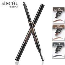 Pen For Eyebrow Brow Tint Eyebrown Wonderful Waterproof Eye Double End Brush Brand Makeup Pencil Sombrancelha
