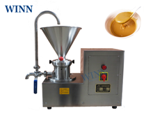 WINN Colloidal Mill Refiner Sesame Grinding Machine Stainless Steel Peanut Butter Colloid mill Machine 110V / 220V stable working peanut butter colloid mill nut butter mill for sale