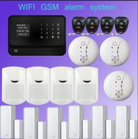 New Product Multilingual 2 4G WiFi Alarm System Door Gap Sensor Internet GSM Alarm System