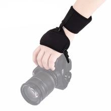 Soft Neoprene Hand Grip Wrist Strap Camera Belt Quick Release Plastic Plate Professional DSLR For Nikon Canon Sony