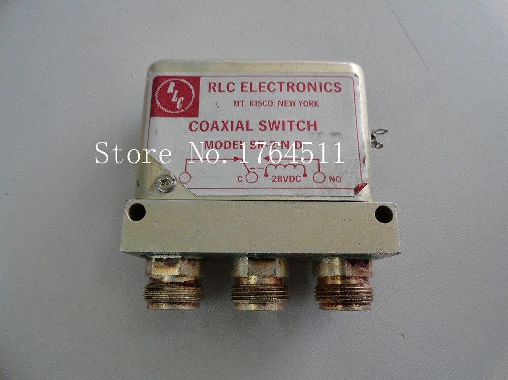 [BELLA] Supply RLC SR-2-N-D SPDT DC-18GHZ 28V N Connector