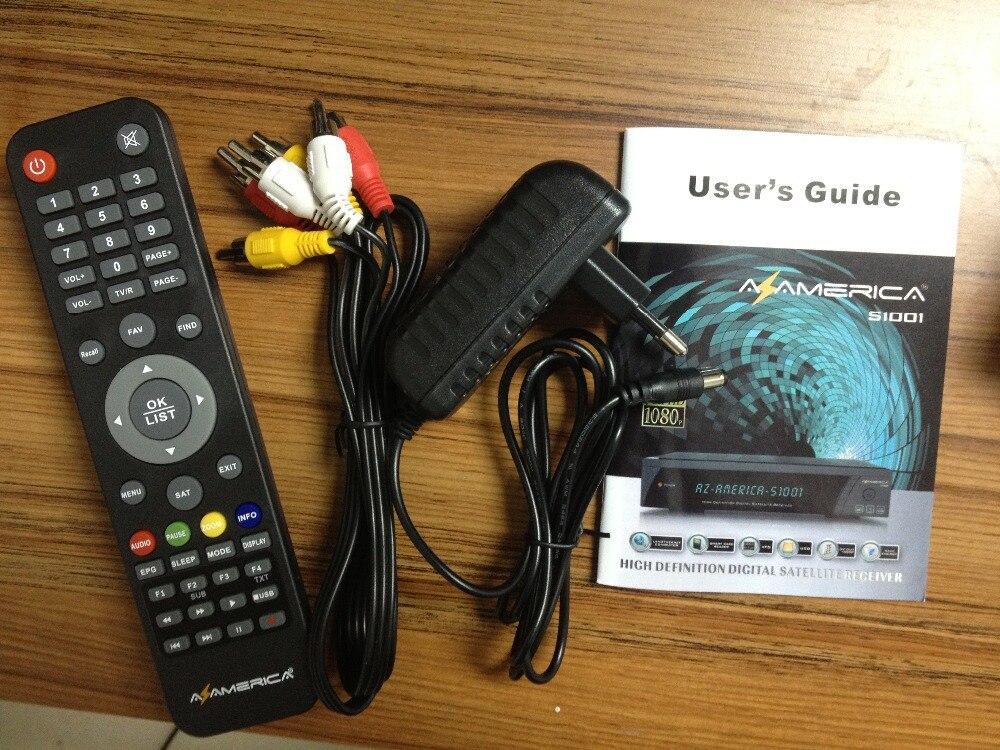 US $75 99  Clone receiver az america s1001 hd receptor satellite digital hd  azamerica s1001 Nag 3 decoder iks sks azamerica s1005 hd-in Satellite TV