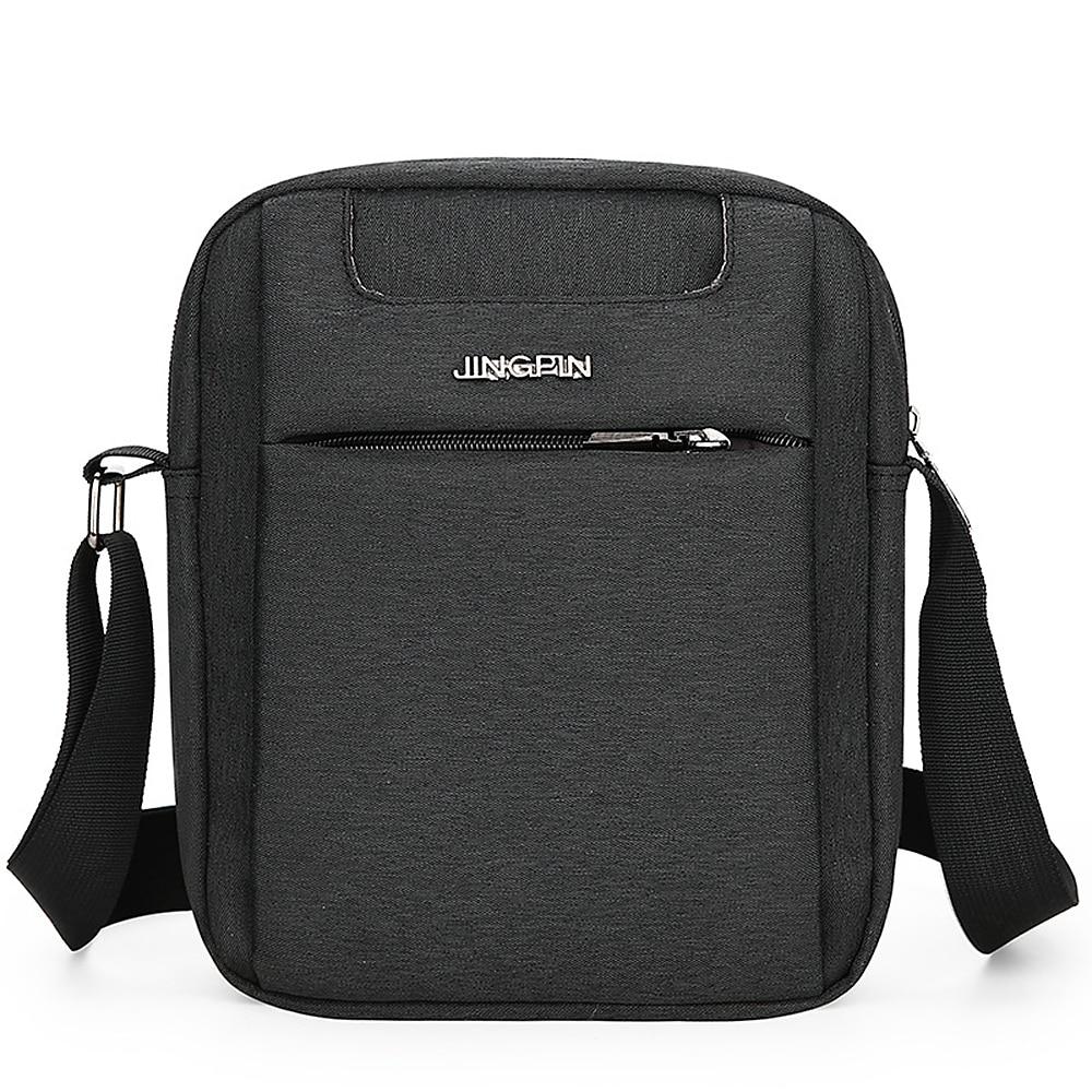 Brief Design Men Messenger Bag Oxford Waterproof Crossbody Bag Male Casual Single Shoulder Bags High Quality Travel Bag