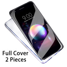 2pcs 9H tempered glass for Lg V20 full screen protector for LG V40 ThinQ V30 V20 G7 G6 Q6 K7 K10 K8 2018 K4 2017 tempered glass(China)