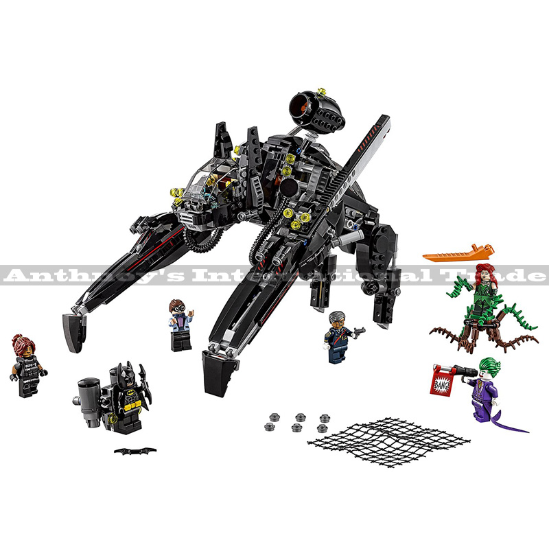 ФОТО Lepin 07056 Genuine Movie Series The Scuttler Bat Spaceship Set Building Blocks Bricks Education Toys 70908 775PCS