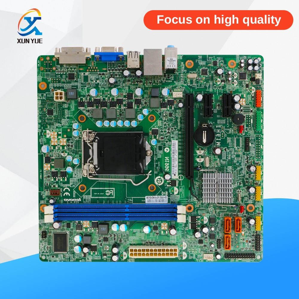 For Lenovo IH61M VER:4.2 Desktop Motherboard H61 Socket LGA 1155 i3 i5 i7 DDR3 16G Micro ATX asrock h61m vs4 original used desktop motherboard h61 socket lga 1155 i3 i5 i7 ddr3 16g micro atx