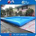 El envío gratuito! 8x8x0.65 mH piscina inflable gigante, grande cuadrada inflable piscina para adultos, piscina de agua inflable para los adultos