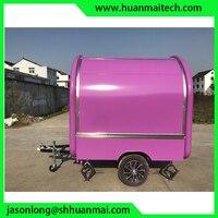 Трейлер для перевозки продуктов закрытый концессионный трейлер прицеп для кейтеринга фургон для еды