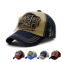 Character Summer Baby Caps Adjuastable Kids Baseball Cap Children Hat Outdoor High Quality Sun Cap For