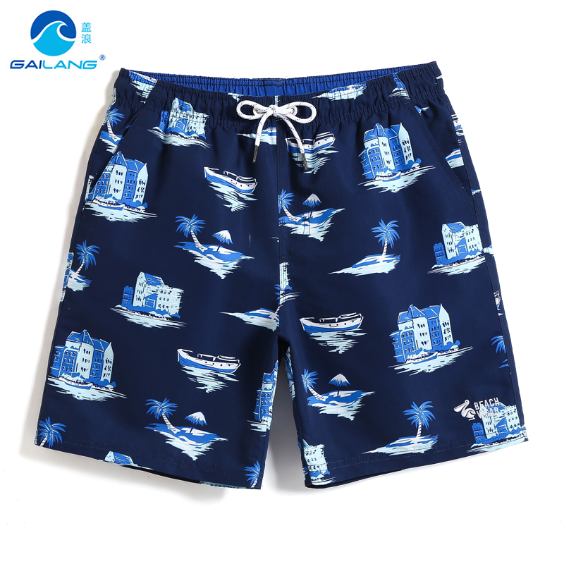 Board     shorts   Men's Swimming trunks joggers swimsuit   board     shorts   quick dry surfing hawaiian camouflage solid liner plus size