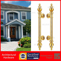 Antimicrobial Copper Cu+ Pull Handles Entrance Door Handle PA-826-25*475mm For Glass/Wooden/Frame Doors