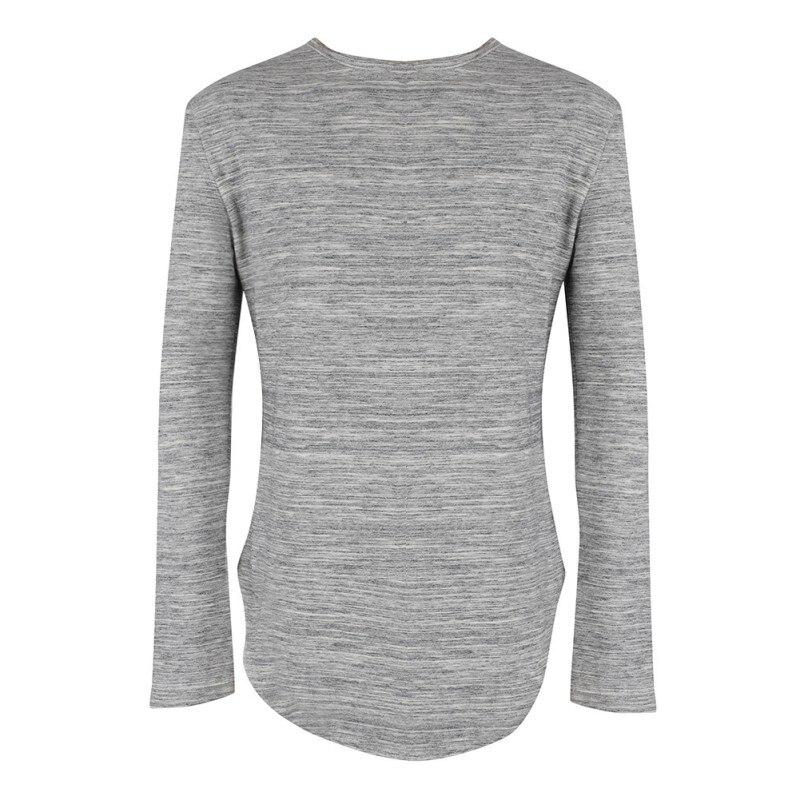 2017 extend hip hop street T-shirt wholesale fashion brand t shirts men summer long sleeve oversize design hold hand ZJ771