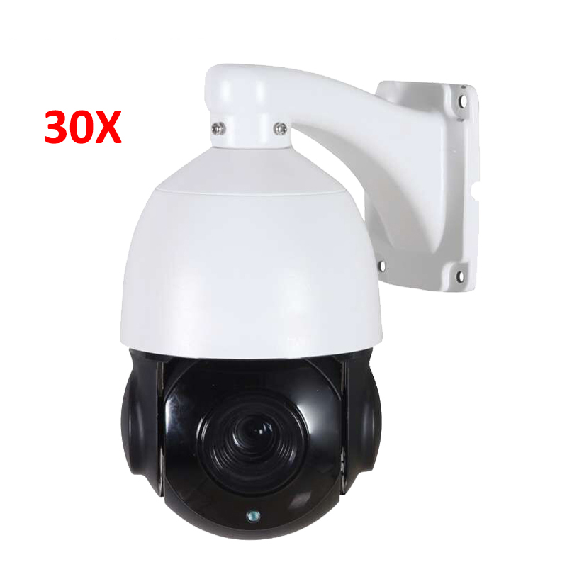 4 inch Mini Size 4MP IP PTZ camera Network Onvif Speed Dome 30X Optical Zoom PTZ IP Camera CCTV 50m IR Night Vision 4 megapixels high speed mini ir ip outdoor ptz camera 10x optical zoom onvif 2 4 ftp motion detection 12vdc night vision 50m