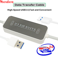 USB 3.0 USB3.0 Data Transfer Cable PC to PC U3 KM Suite Smart KM Swicth Converter Data Sync Transfer Share For Windows Mac
