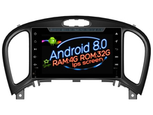 Pantalla IPS Android 8.0 del coche DVD Navi reproductor deckless Nissan Juke (2012-2017) GPS Suto audio estéreo multimedia