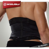 New 9 Adjustable Therapy Band Posture Corrector Sport Waist Support Good Quality Lumbar Protector Belt Back