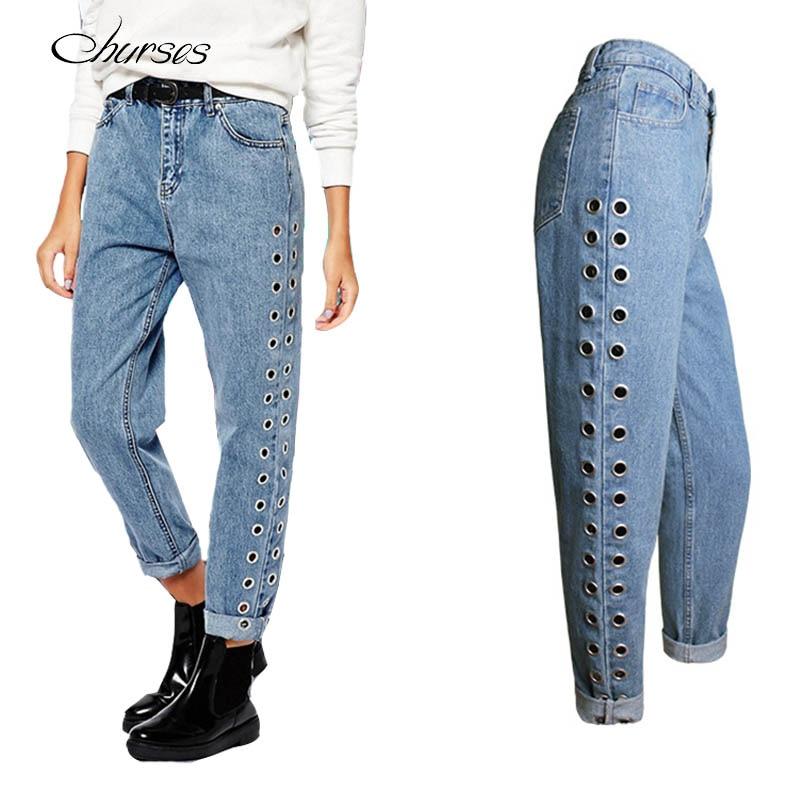 Online Get Cheap Ripped Boyfriend Jeans for Women -Aliexpress.com ...