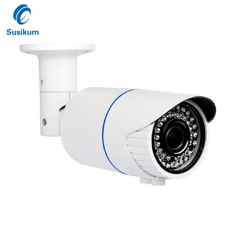где купить 2MP 4MP 4*Manual Zoom AHD Camera Waterproof Outdoor 2.8-12mm Varifocal Lens Surveillance Security Analog Camera With OSD Mneu дешево