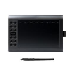 قاومون M106K-جهاز كمبيوتر لوحي للرسومات احترافي 10 بوصات للرسم مع USB جهاز لوحي رقمي 2048 مستويات القلم