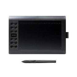 GAOMON M106K-جهاز كمبيوتر لوحي للرسومات احترافي 10 بوصات للرسم مع USB جهاز لوحي رقمي فني مع 12 مفاتيح صريحة