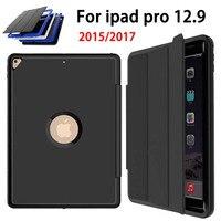 Magnetic Smart Auto Sleep Wake Case For Apple IPad Pro 12 9 2015 2017 Cover Premium