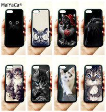 Black cat  staring eyes soft silicone edge mobile phone cases for apple iPhone x 5s SE 6 6s plus 7 7plus 8 8plus XR XS MAX case