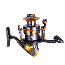 Original 2019 New Style  BATTLE II 3000-8000 Spinning Fishing Reel 5+1 BB With Full Metal Body Pre-Load R