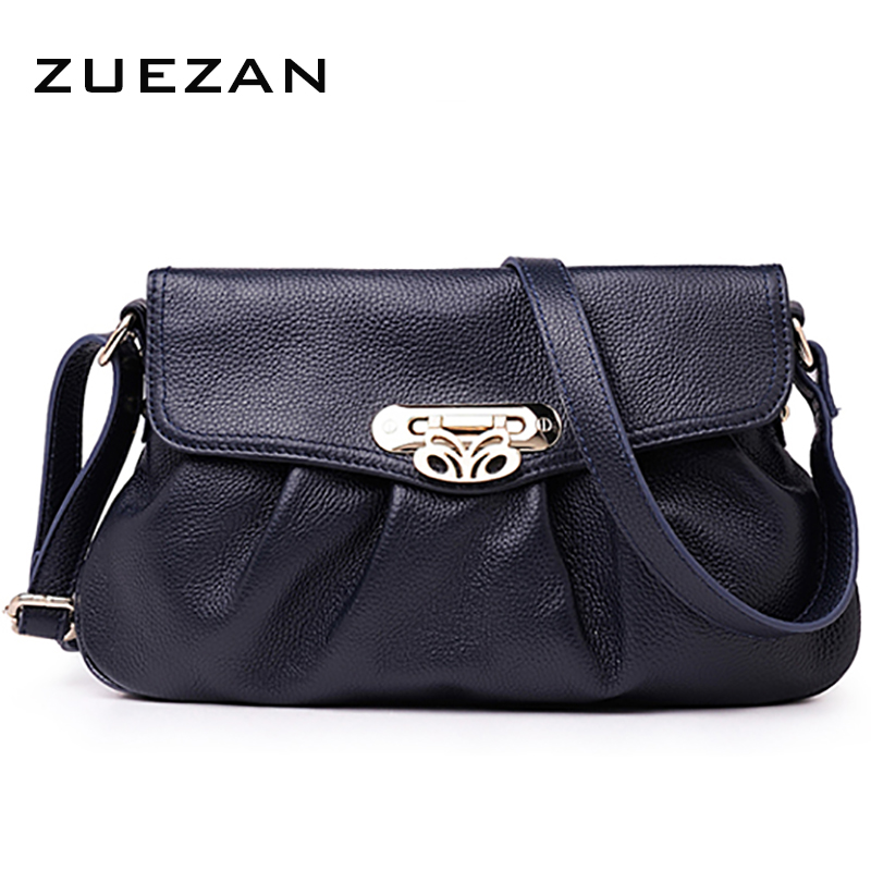 Shipped after September 1 NEW GENUINE LEATHER Women Shoulder bag 100 REAL cow skin crossbody