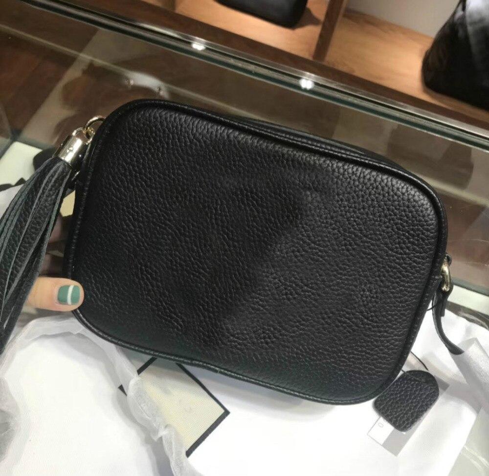 Behappy R271 2018 New Women Luxury Tassel Handbag Famous Brand Genuine Leather Lady Shoulder Crossbody Bag Female Messenger Bag цена