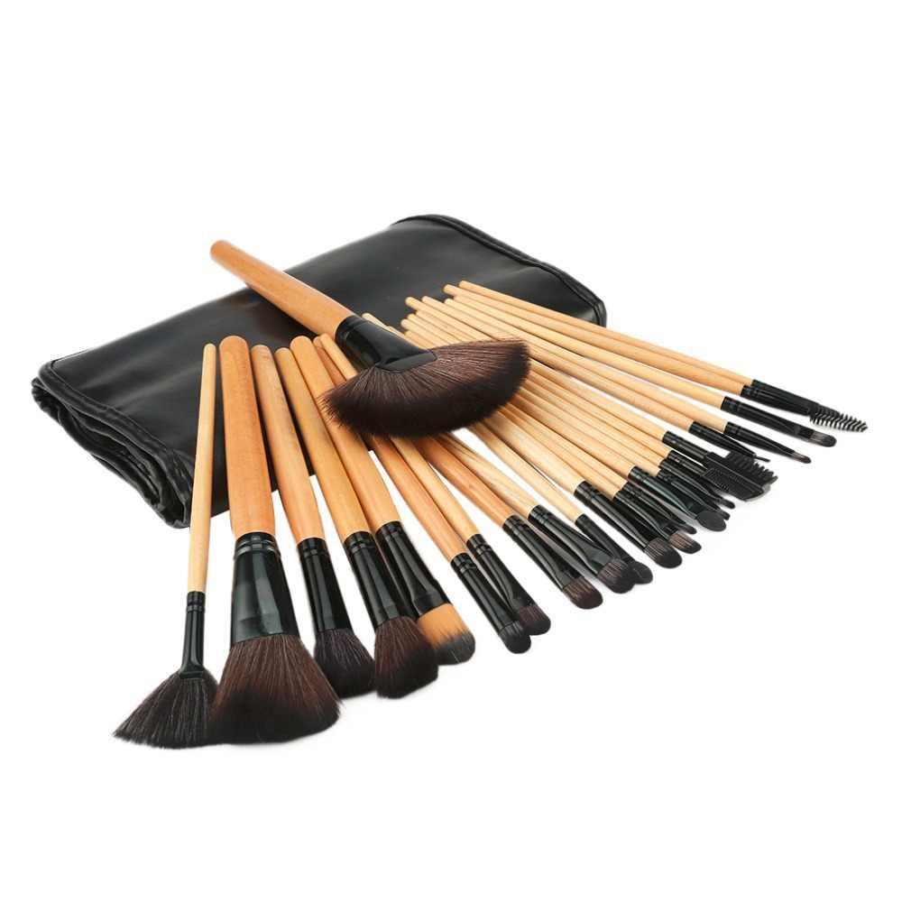 Professional Beauty Makeup Set Tool 15 Colors Face Concealer Contour Platte + 24pcs Pro Makeup Brushes  + 1 Cosmetic Sponge Puff