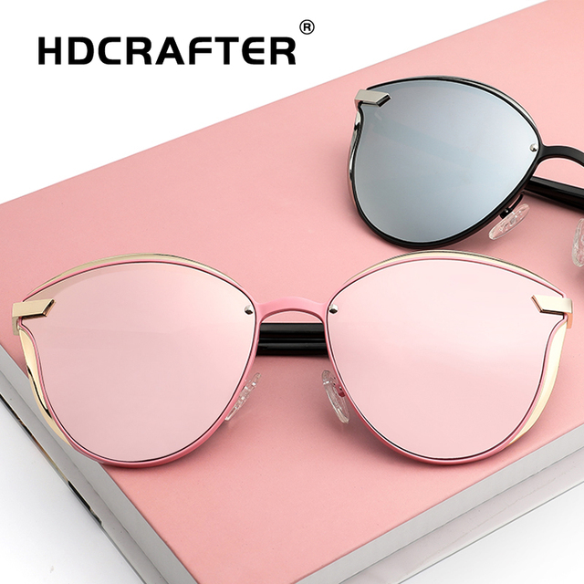 273afae92673 Cat Eye Sunglasses Women polarized Luxury Alloy Frame eyewear TR90 ladies  Sun Glasses Fashion Retro lentes de sol mujer uv400