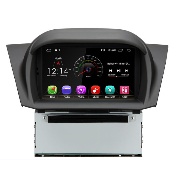 7 дюймовый Android 8,1 2G Оперативная память 16G Встроенная память Автомобильная dvd навигационная система для Ford Fiesta 2008 2009 2010 2012 2013 2014 2015 2016 WiFi 3g